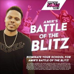 Amir's battle of the blitz