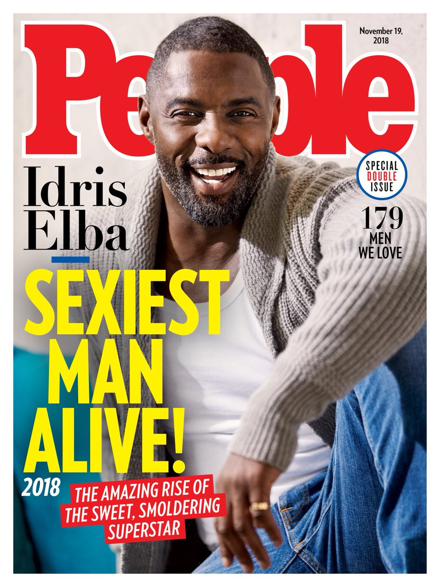 Idris Elba People Magazine Cover