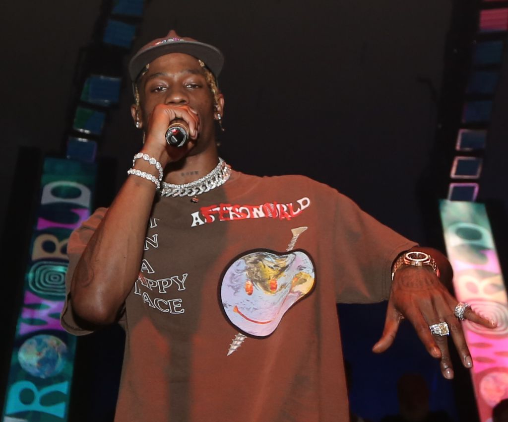 Travis Scott Host Astroworld After Party