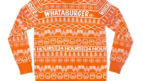 Whataburger Christmas Sweater