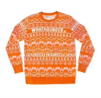 Whataburger Christmas Sweater