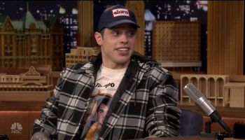 Pete Davidson during an appearance on NBC's 'The Tonight Show Starring Jimmy Fallon.'