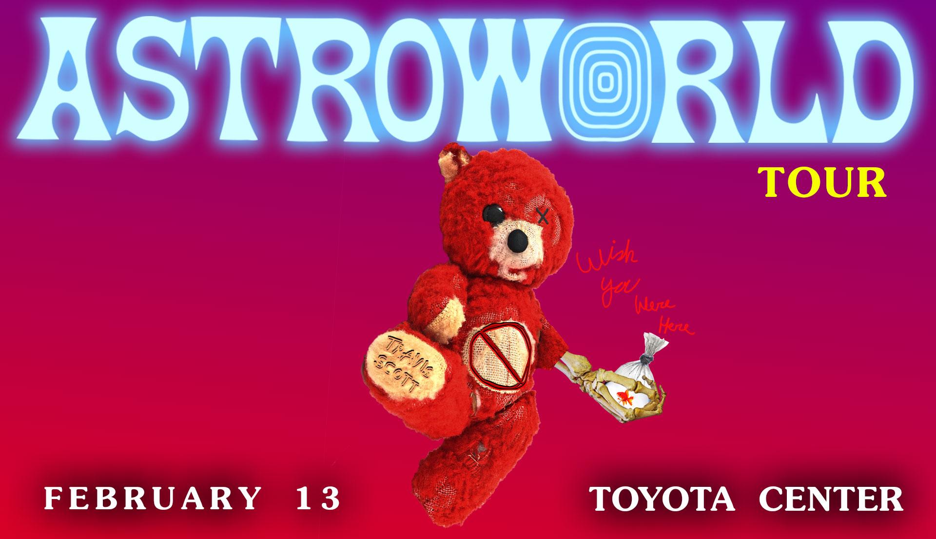 Travis Scott - Astroworld Wish You Were Here Tour Houston