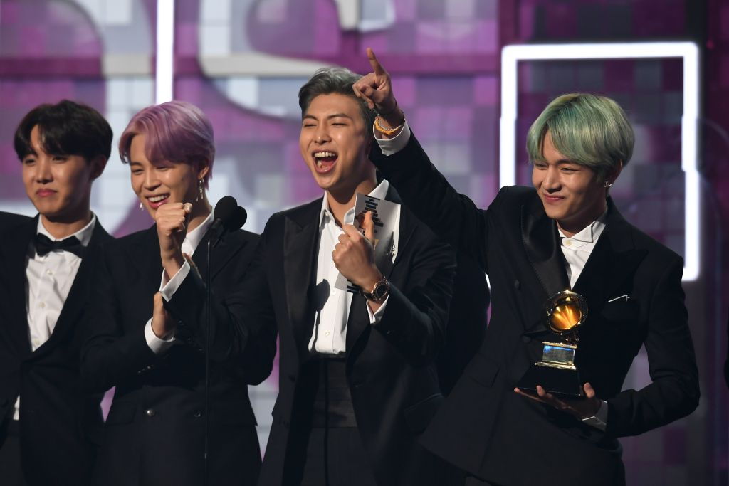 Bts Promise They Ll Be Back At 2019 Grammy Awards Video Radio