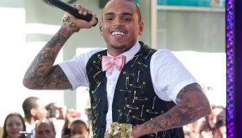 Chris Brown Performs On NBC's 'Today' - July 15, 2011