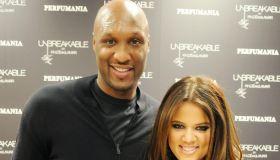 Khloe Kardashian Odom and Lamar Odom Debut Fragrance