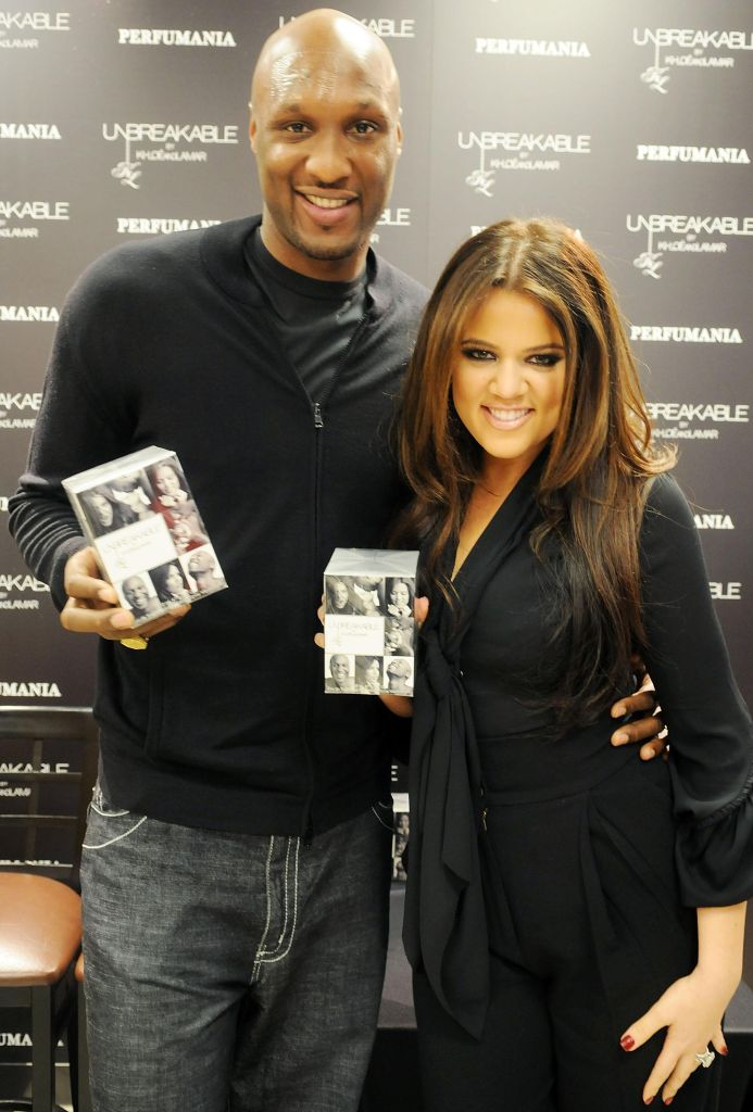 Khloe Kardashian Odom and Lamar Odom Debut Fragrance