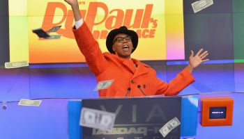 Viacom Inc And Logo TV's 'RuPaul's Drag Race' Ring The NASDAQ Stock Market Closing Bell