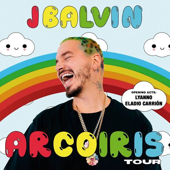J Balvin Arcoiris Tour Flyer