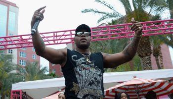 Flo Rida Performs At The Flamingo GO Pool At Flamingo Las Vegas