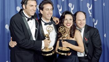 "The cast of the Emmy-winning ""Seinfeld"""