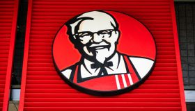 American fast food restaurant chain Kentucky Fried Chicken,...