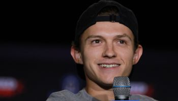 Spider-Man actor Tom Holland attends the Keystone Comic Con in Philadelphia