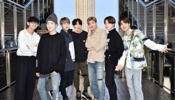 Empire State Building Hosts K-Pop Group BTS