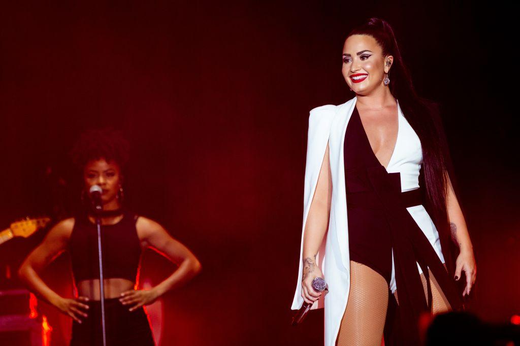 Demi Lovato live at Rock in Rio Lisboa 2018 Day 2
