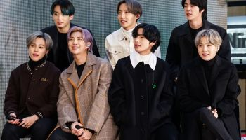 K-Pop Band BTS Visits NBC's 'Today' Show