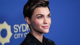 Actress Ruby Rose arrives at the 2019 Australians In Film Awards held at the InterContinental Los Angeles Century City on October 23, 2019 in Century City, Los Angeles, California, United States.