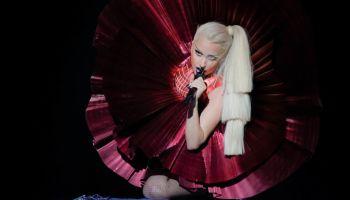 Lady Gaga at the 2011 MTV Europe Music Awards