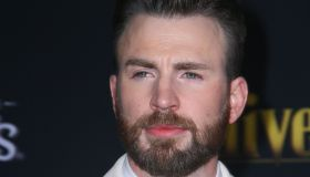 "Chris Evans attends The premiere of ""Knives Out"" in Los Angeles"